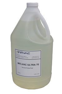 Intlvac Ultra 70 vacuum pump oil