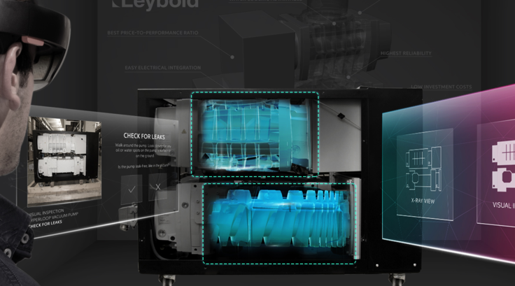 Leybold Simplifies Repairs and Maintenance through Augmented Reality
