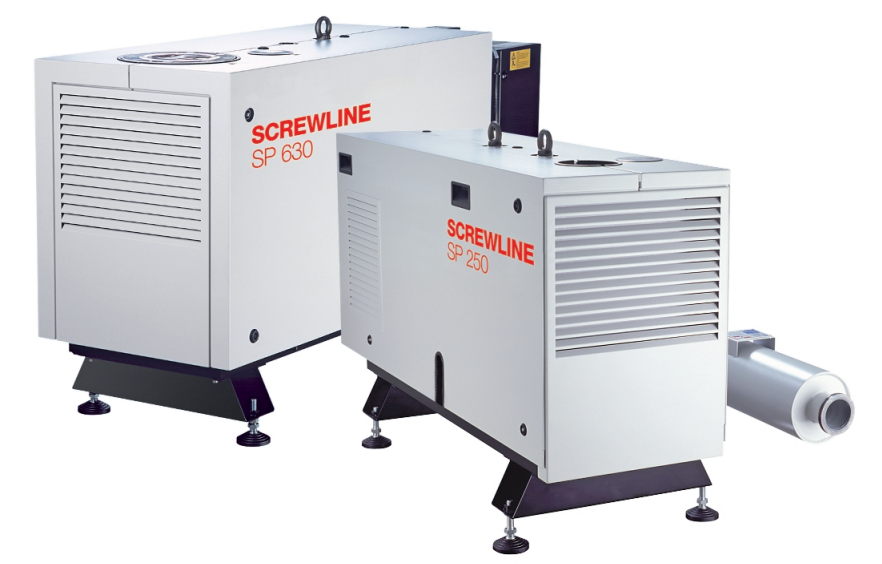 screwline vacuum pump
