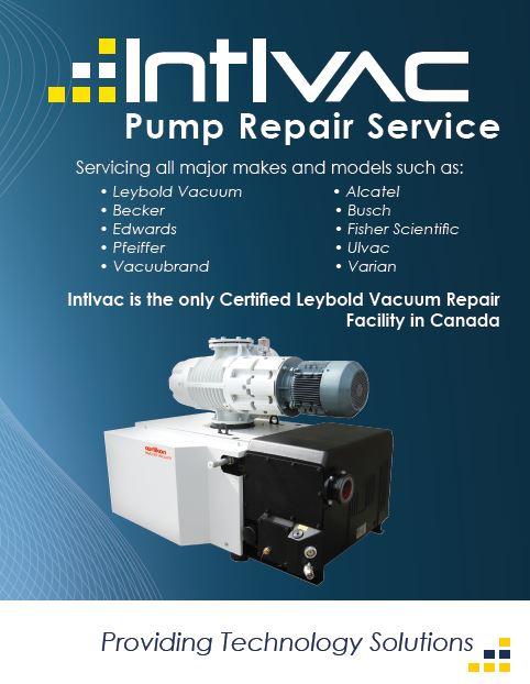 Dry Scroll Pump Repair